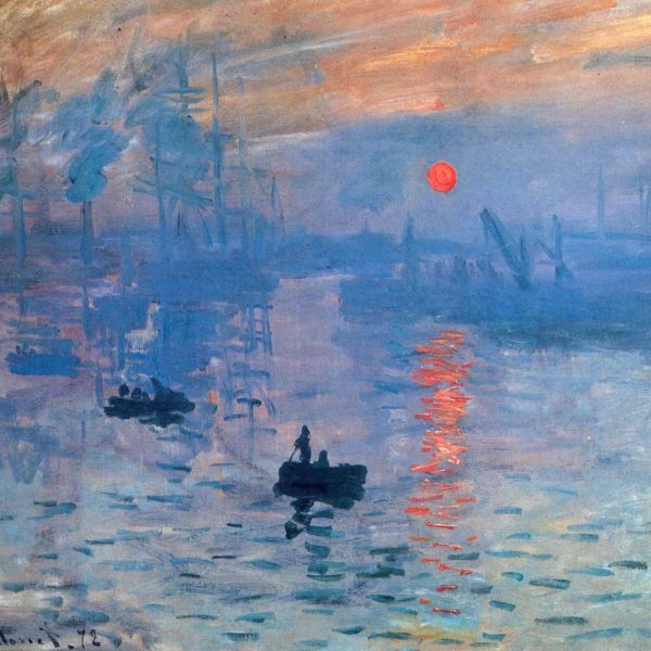 Claude Monet: Impression – Solopgang. 1873